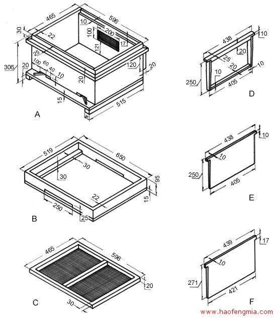 中一式中蜂箱介绍
