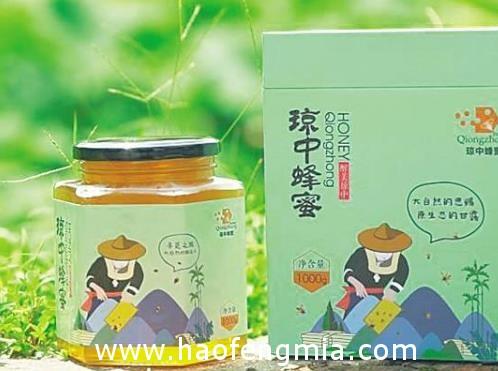 琼中蜂蜜衍生产品不断发展