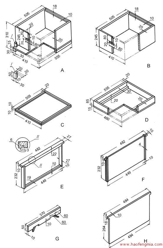 朗氏十框蜂箱