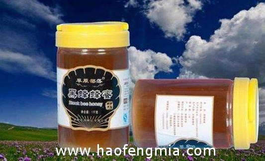 尼勒克黑蜂蜂蜜介绍