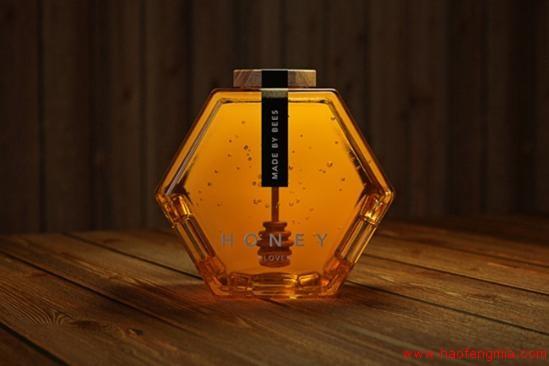 蜂蜜包装之蜂巢式包装
