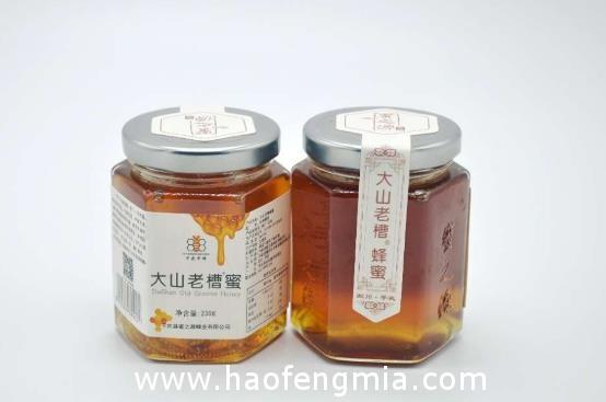大山老槽蜂蜜:自然成熟蜂蜜品质高