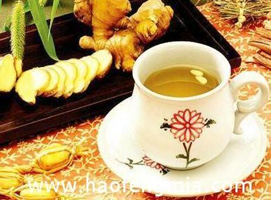 生姜蜂蜜水能淡化老年斑