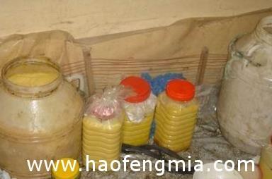 芮城警方成功查获一起生产销售假蜂蜜案