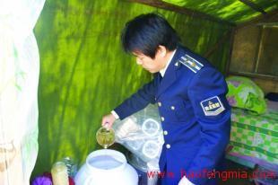 水寨食药所开展蜂蜜及蜂蜜制品专项检查