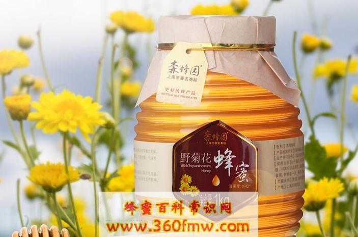 野菊花蜂蜜好吗?好蜂蜜之野菊花蜜的作用及功效介绍