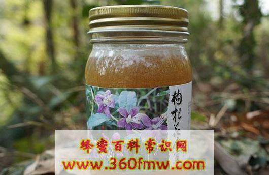 枸杞蜂蜜好吗?好蜂蜜之枸杞蜜的作用及功效介绍