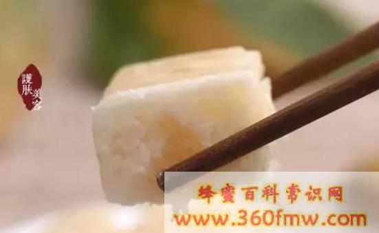 神奇的菖河蜂蜜:用绳子拴着卖的蜂蜜硬蜜
