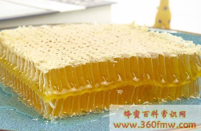 蜂巢蜜怎么吃