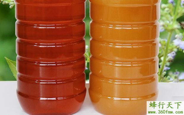 荆条蜂蜜的作用与功效